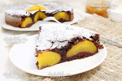 Пирог тирольский с абрикосами
