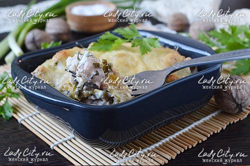 Блюдо получается сочным и сытным. В его вкусе отчетливо чувствуются различные оттенки, которые, переплетаясь между собой, создают довольно интересную вкусовую композицию.